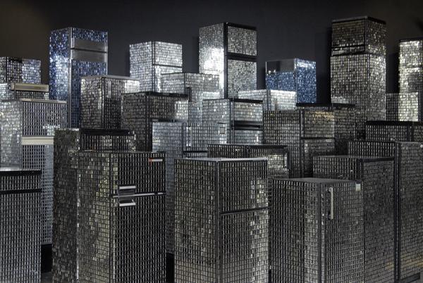 Kader Attia Skyline POmpidou